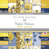 The Paper Boutique - Honey Meadow Collection - 8 x 8 Embellishment Pad