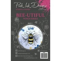 Pink Ink Designs - Clear Photopolymer Stamps - A5 - Bee-utiful