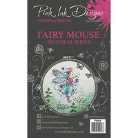 Pink Ink Designs - Clear Acrylic Stamps - A5 - Fairy Mouse