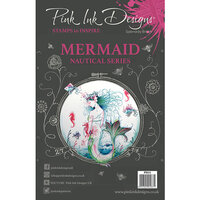 Pink Ink Designs - Clear Acrylic Stamps - A5 - Mermaid