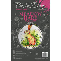 Pink Ink Designs - Clear Photopolymer Stamps - A5 - Meadow Hare