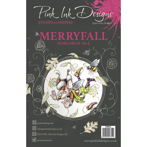 Pink Ink Designs - Clear Acrylic Stamps - A5 - Merryfall Hobgoblin 2