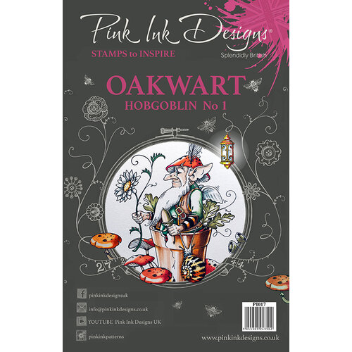 Pink Ink Designs - Clear Acrylic Stamps - A5 - Oakwart Hobgoblin 1