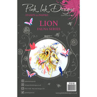 Pink Ink Designs - Clear Acrylic Stamps - A5 - Lion