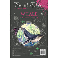 Pink Ink Designs - Clear Acrylic Stamps - A5 - Whale