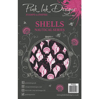 Pink Ink Designs - Clear Acrylic Stamps - A5 - Shells
