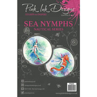Pink Ink Designs - Clear Acrylic Stamps - A5 - Sea Nymph