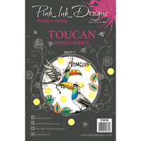 Pink Ink Designs - Clear Acrylic Stamps - A5 - Toucan