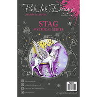 Pink Ink Designs - Clear Acrylic Stamps - A5 - Stag