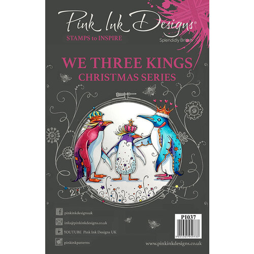 Pink Ink Designs - Christmas - Clear Acrylic Stamps - A5 - We Three Kings