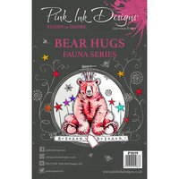 Pink Ink Designs - Clear Acrylic Stamps - A5 - Bear Hugs
