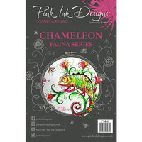 Pink Ink Designs - Clear Acrylic Stamps - A5 - Chameleon