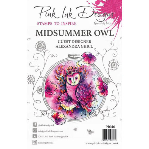 Pink Ink Designs - Clear Acrylic Stamps - Midsummer Owl