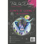 Pink Ink Designs - Clear Acrylic Stamps - Cow's It Going