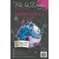 Pink Ink Designs - Clear Acrylic Stamps - A5 - Rhino Saw Us