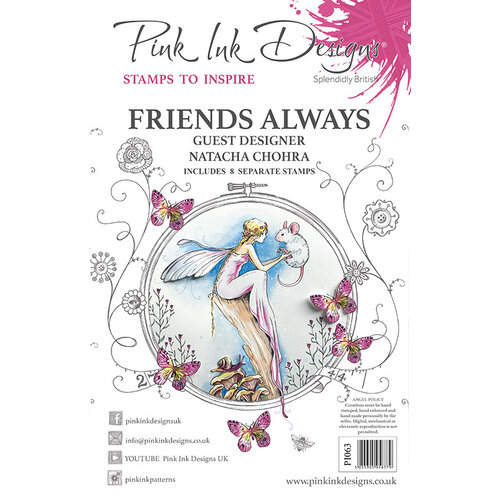 Pink Ink Designs - Clear Acrylic Stamps - Friends Always