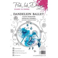 Pink Ink Designs - Clear Acrylic Stamps - Dandelion Ballet