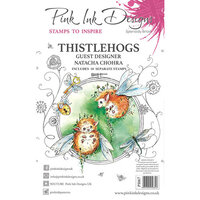 Pink Ink Designs - Clear Acrylic Stamps - Thistlehogs