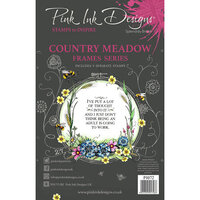 Pink Ink Designs - Clear Acrylic Stamps - Country Meadow
