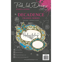 Pink Ink Designs - Clear Photopolymer Stamps - Decadence