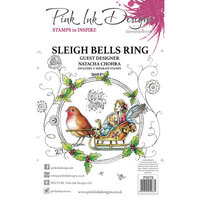 Pink Ink Designs - Christmas - Festive Collection - Clear Acrylic Stamps - Sleigh Bells Ring