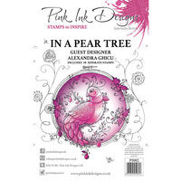 Pink Ink Designs - Christmas - Festive Collection - Clear Acrylic Stamps - In A Pear Tree