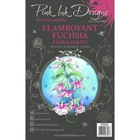 Pink Ink Designs - Clear Photopolymer Stamps - A5 - Flamboyant Fuchsia