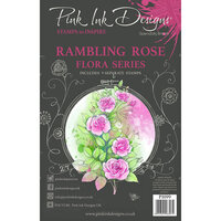 Pink Ink Designs - Clear Photopolymer Stamps - A5 - Rambling Rose