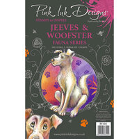 Pink Ink Designs - Clear Photopolymer Stamps - A5 - Jeeves and Woofster