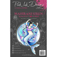 Pink Ink Designs - Women of the World Collection - Clear Photopolymer Stamps - A5 - Mahirani