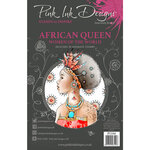Pink Ink Designs - Women of the World Collection - Clear Photopolymer Stamps - A5 - African Queen
