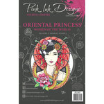 Pink Ink Designs - Women of the World Collection - Clear Photopolymer Stamps - A5 - Oriental Princess