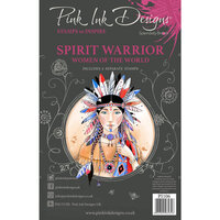 Pink Ink Designs - Women of the World Collection - Clear Photopolymer Stamps - A5 - Spirit Warrior
