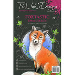 Pink Ink Designs - Clear Photopolymer Stamps - A5 - Foxtastic
