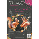 Pink Ink Designs - Clear Photopolymer Stamps - A5 - Secret Squirrel