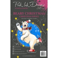 Pink Ink Designs - Clear Photopolymer Stamps - A5 - Beary Christmas