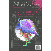 Pink Ink Designs - Clear Photopolymer Stamps - A5 - Love Your Elf