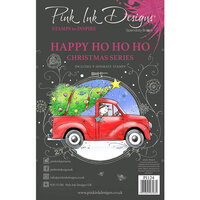 Pink Ink Designs - Christmas Series - Clear Photopolymer Stamps - A5 - Happy Ho Ho Ho