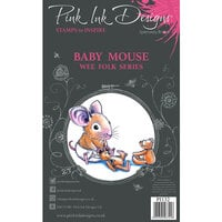 Pink Ink Designs - Clear Photopolymer Stamps - A7 - Baby Mouse
