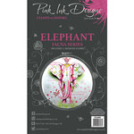 Pink Ink Designs - Clear Acrylic Stamps - A6 - Elephant