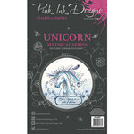 Pink Ink Designs - Clear Acrylic Stamps - A6 - Unicorn