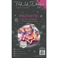 Pink Ink Designs - Clear Acrylic Stamps - A6 - Pigtastic