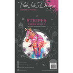Pink Ink Designs - Clear Acrylic Stamps - A6 - Stripes