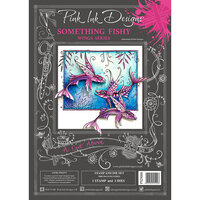 Pink Ink Designs - A Cut Above - Die and Clear Acrylic Stamp Set - Something Fishy