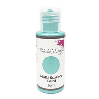 Pink Ink Designs - Multi Surface Paint - Bayside Aqua Shimmer