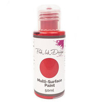 Pink Ink Designs - Multi-Surface Paint - Strawberry Fire Shimmer