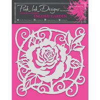 Pink Ink Designs - Stencils - 8 x 8 - English Garden