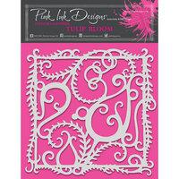 Pink Ink Designs - Stencils - 8 x 8 - Tulip Bloom