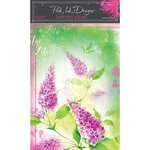 Pink Ink Designs - A4 - Rice Paper Pack - Lovely Lilac