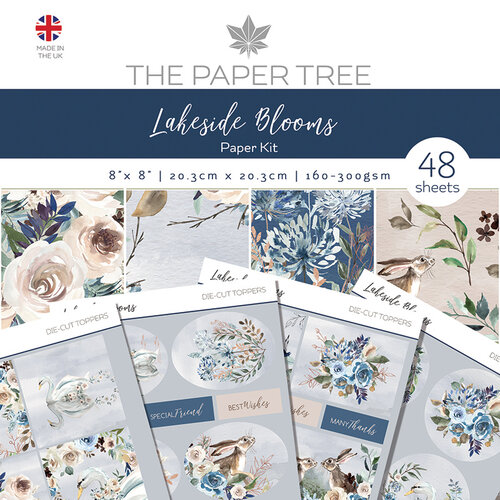 The Paper Tree - Lakeside Blooms Collection - Paper Kit